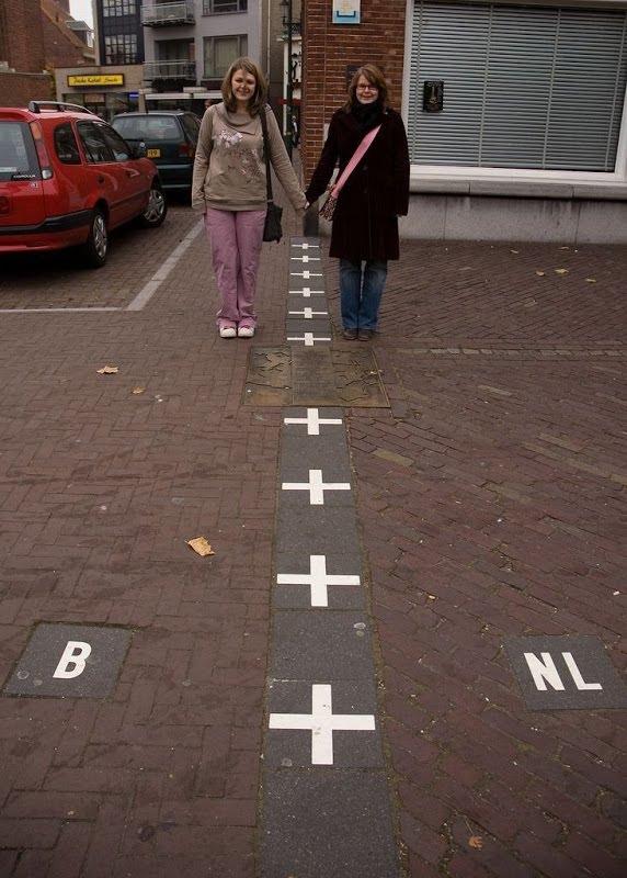 هولندا الحدود الأكثر تعقيدا في العالم